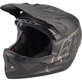 Troy Lee Designs D3 Fiberlite Kask rowerowy, mono black